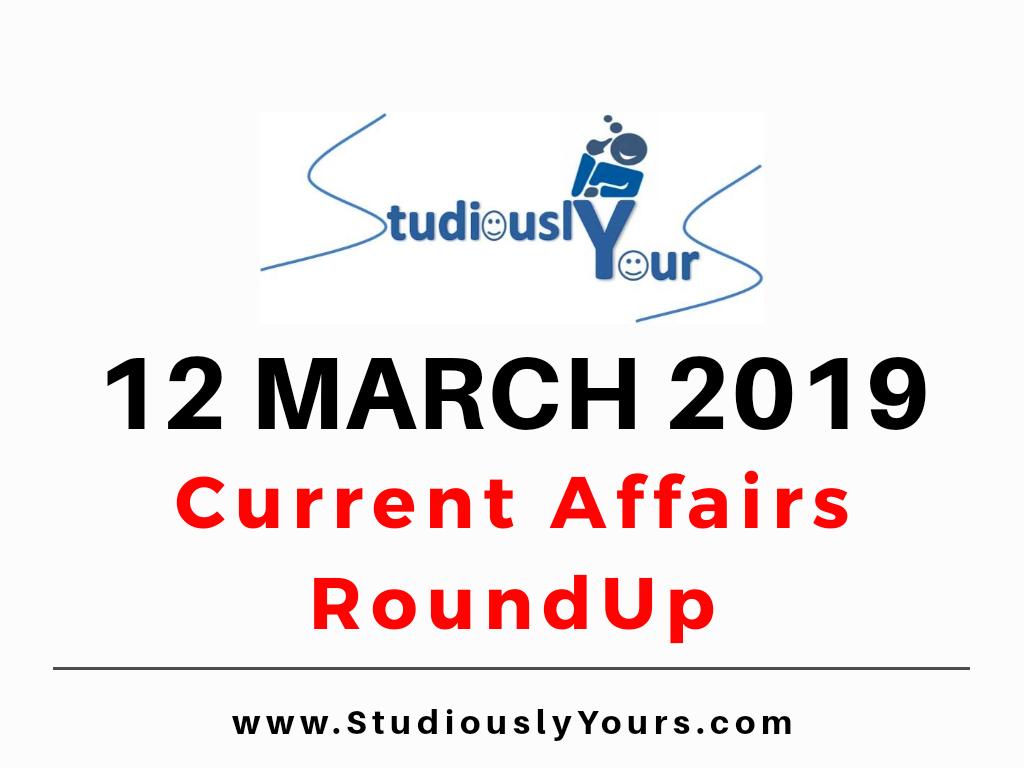 World Current Affairs 2019